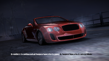 Bentley Continental SuperSports Coupé & SuperSports Convertible (ADDON)