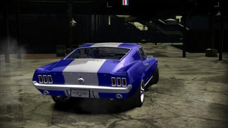 Ford Mustang GT 1968 with Powerful Nitro
