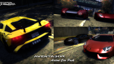 Aventador Addon Car Pack