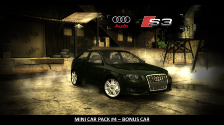 Mini Car Pack #4 BONUS CAR