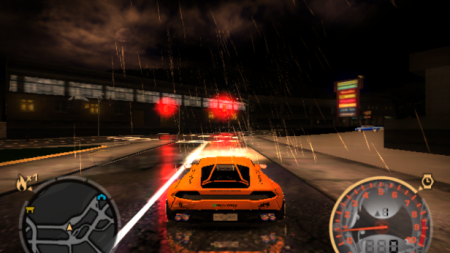Simple NFS2015 lighting for NFSMW