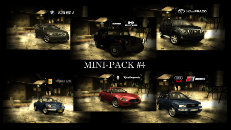 Mini Car Pack #4