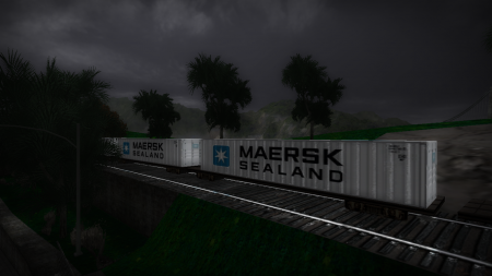 New Container Texture [ Maersk Sealand ]