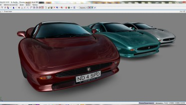 JAGUAR XJ220 (NFS 2 legend cars series by Alex.Ka.)