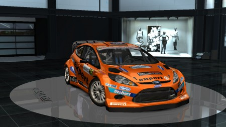 Ford Fiesta WRC H.Solberg Stobart Expert Livery