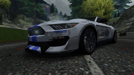 Ford Mustang GR.4 vinyl for the Ford Shelby GT350R